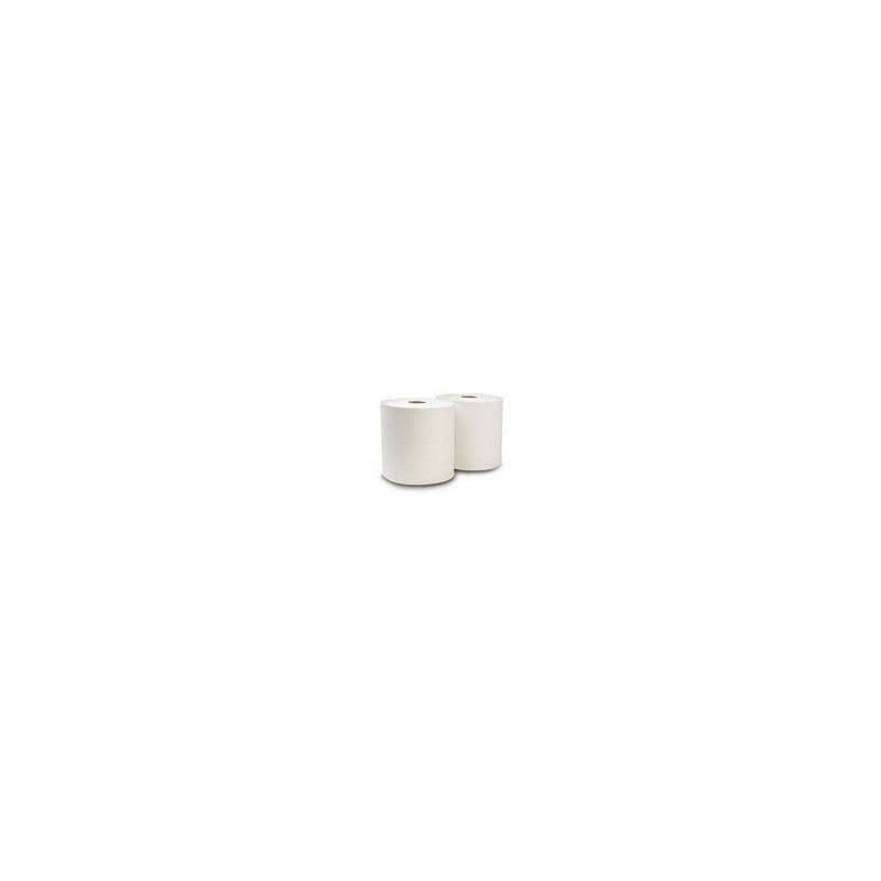 6011A Rollo Blanco Doble Hoja Ancho 20cm Buje de 7,6cm
