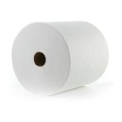 6011AA Rollo Blanco Doble Hoja Ancho 20cm Buje de 7,6cm