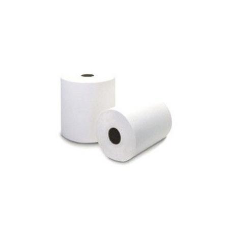 6012A Rollo Blanco Doble Hoja Ancho 20cm Buje de 7,6cm