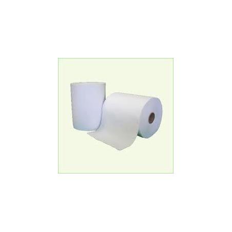 4111AA Toalla Blanca Ancho 20cm Buje de 4,6cmx 6u