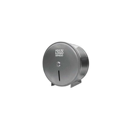 10026-2 Dispenser de ACERO INOXIDABLE de Papel Higiénico Jumbo x 300Mt