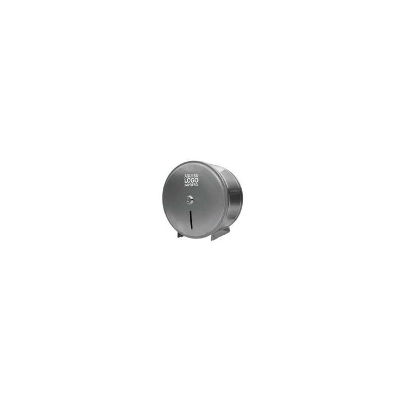10026-3 Dispenser de ACERO INOXIDABLE de Papel Higiénico Jumbo x 600Mt