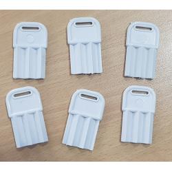 10000 Llave Plástica para Dispensers