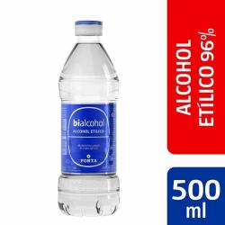 203 Alcohol Etlico 96° 12 x 500 ml Marca Bialcohol de Porta